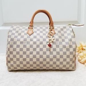 😍Beautiful Louis Vuitton Speedy 35 Damier Ebene